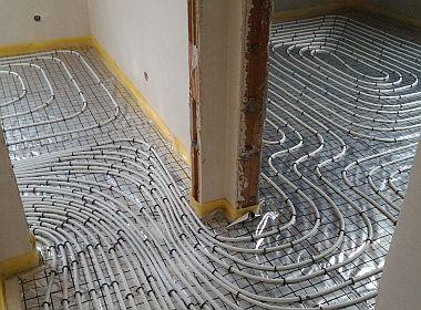 Energooszczędna instalacja wentylacji, ogrzewania podłogowego, wod-kan, gaz i centralne odkurzanie